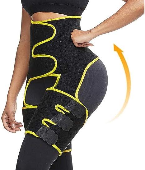 Hips Trimmer Thigh Trimmers Eraser Shapewear Booty Belt KANGMOON Waist Trainer for Women,Hip Brace Compression Hamstring Body 3-in-1 Waist Thigh Butt Lifter