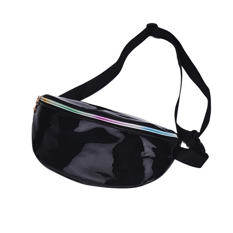 4fb3222dddc6 Amazon.com: Bum Bag, Running Belt, Waist Bag Women Fanny Packs Laser ...