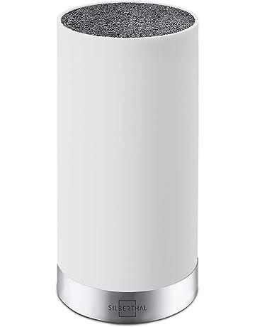 SILBERTHAL Plata Thal Cuchillo Universal Bloque | Interior de cerdas extraíbles | sin Cuchilla | unbestückt