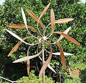 Amazon.com: Stanwood Wind Sculpture: Large Kinetic Copper
