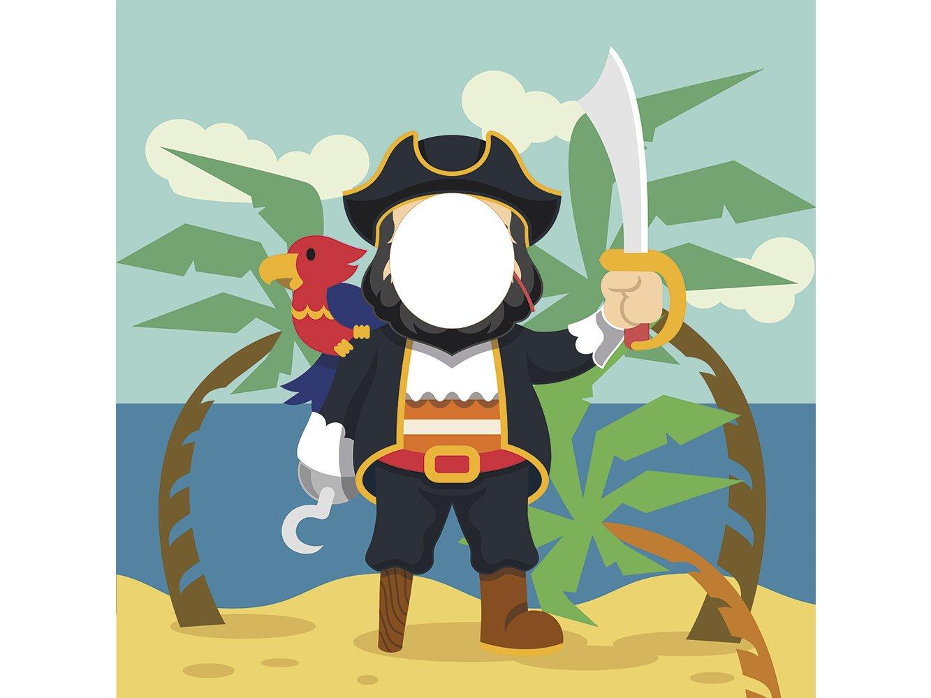 Photocall Pirata 1x1,20m Infantil | Photocall Piratas ...
