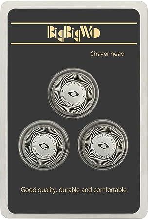 BigbigWo 3 piezas Cuchilla Cabezales de Afeitado para Philips ...