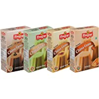 Five Star Instant China Grass Mix Chocolate, Badam Pista, Kesar Pista and Mango (100 g Each) - Pack of 4
