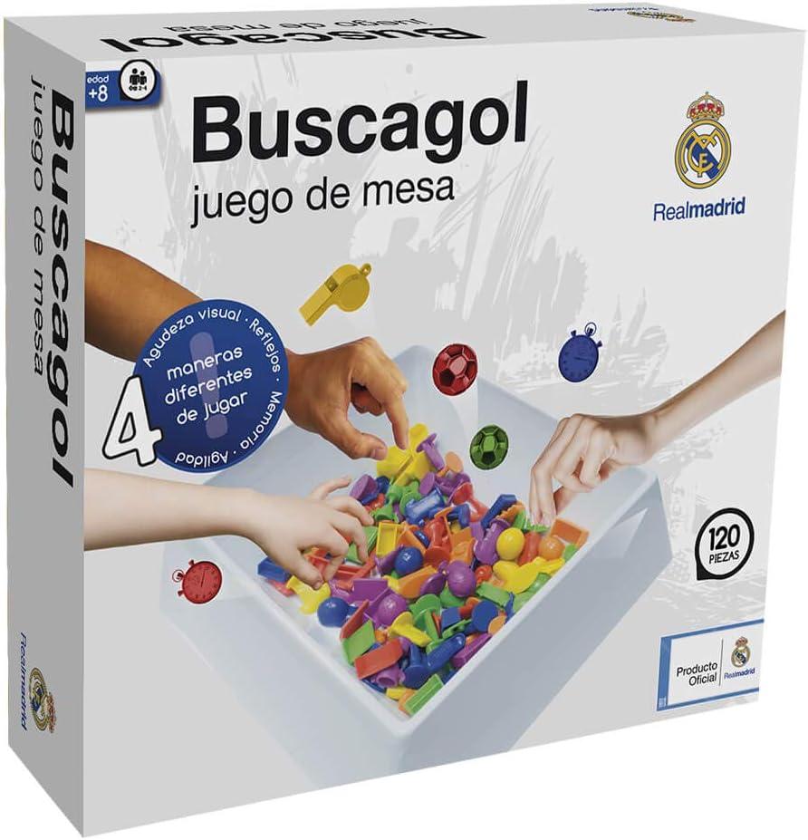 Real Madrid Buscagol (11824), Multicolor: Amazon.es: Juguetes y juegos
