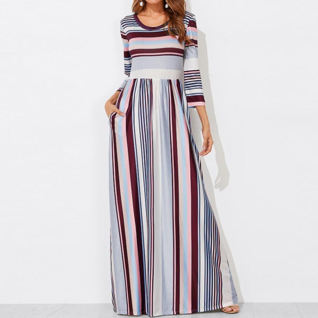 Mujer Vestido Casual Verano 2018,Sonnena Mujer elástico ...