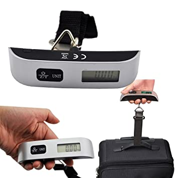 EZ LIFE Portable Digital Luggage Weighing Scale 50kgs-ez-dls-1 ...