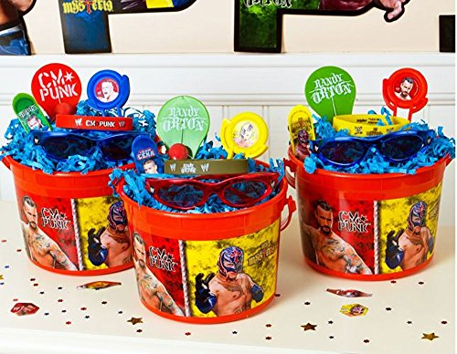 WWE World Wrestling Entertainment Kids Pre-Filled Party Favors Give Aways! by WWE
