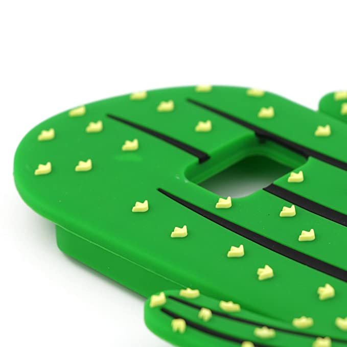 Amazon.com: Galaxy S7 Edge Case, Cute Cartoon 3D Vivid Cactus Prickly Pear Plant Soft and Protective Silicone Rubber Case Cover for Samsung Galaxy S7 Edge ...