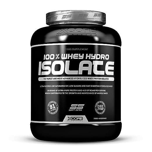 12 opinioni per Xcore 100% Hydro Whey Protein Isolate SS Powder 2000g- Delizioso gusto biscotti