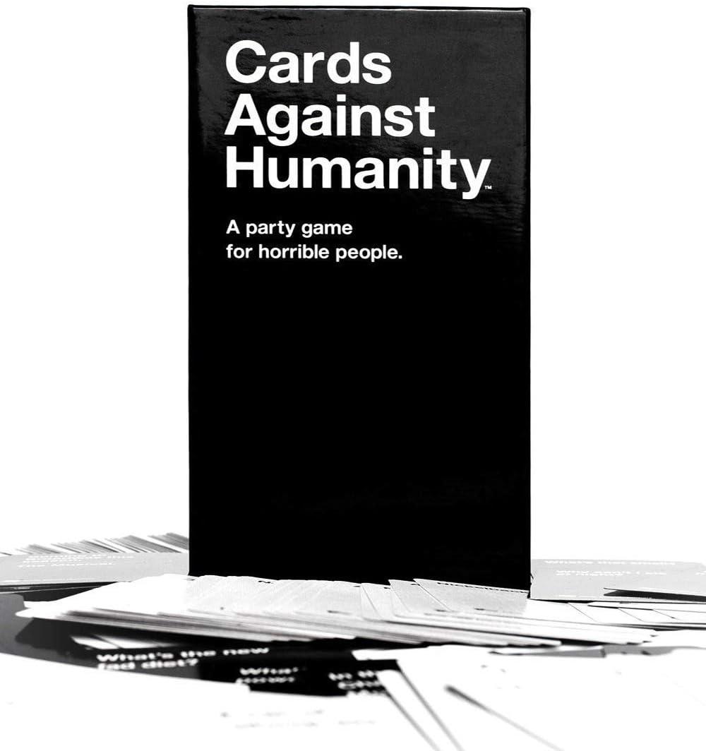 H&J Tarjetas contra la Humanidad UK - Juegos de Board para Adultos: Todos los Libros novelas Partido Juegos Juguetes Gadget - UN Juego de Partido para horreas Personas: Amazon.es: Hogar