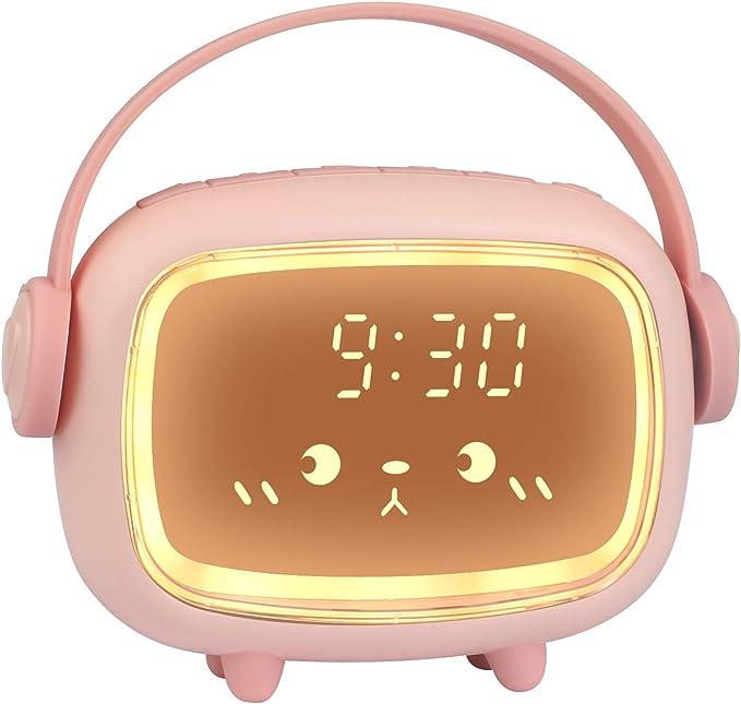 ZKIAH Despertador Digital Infantil, Relojes Despertador con