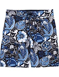 Men's Swim E-board Short. Elastic Waist, Inner Key Pocket, Mesh Brief Lining
