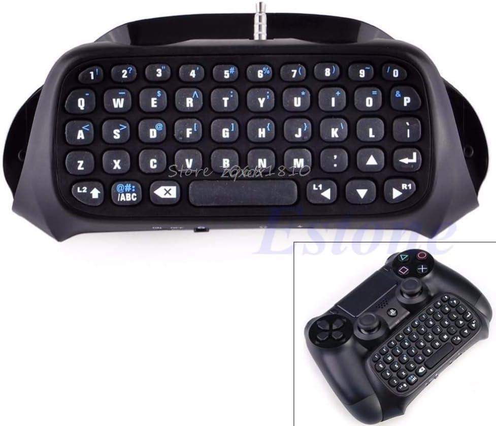 SAUJNN Wireless Bluetooth Keyboard Keypad Chatpad for PS4 Game Controller Z09 Drop Ship