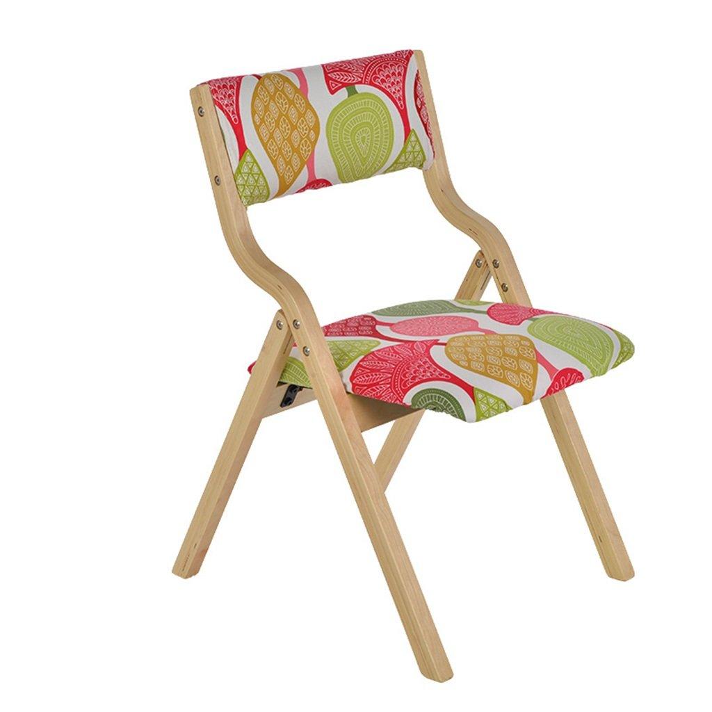 デスクの食事に使用できる背もたれ付きの折りたたみ式の椅子ホーム&コマーシャル用の子供用ラーニングチェア B0751YFW7G