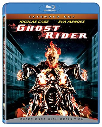 Amazon com: Ghost Rider (Extended Cut) [Blu-ray]: Nicolas