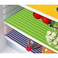 مفارش درج ثلاجة مصنوعة من بلاستيك بي في سي من كوبر اندستريز، 6 قطع، متعددة الالوان