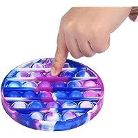 Push Pop Bubble Fidget Silikon sensorisk leksak, fidget enkel dimple leksak, Pressa sensorisk leksak för barn och vuxna…