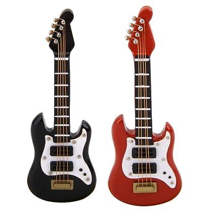 Amazon.es: KESOTO 2 Piezas de Guitarra de Madera Instrumento de ...
