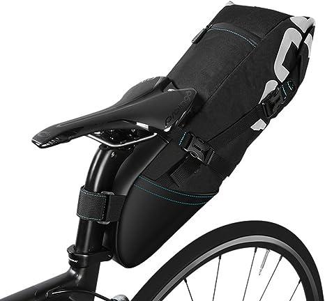 10L Mountain Bike Bags Rear Seat Saddle Bags Bicycle Full Waterproof Pannier UK*