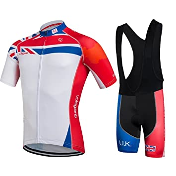 ede58c34d16 Fastar Cycling Clothing Sets Short Sleeve Jersey and Pants for Men Summer  Breathable Lightweight Bike Clothing