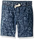 Lucky Brand Toddler Boys' Pull on Shorts, Medium Blue Wash, 4T