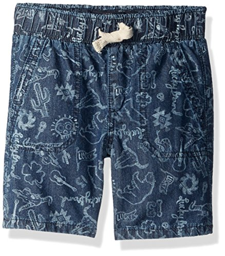 Lucky Brand Toddler Boys Pull On Shorts  Medium Blue Wash  3T