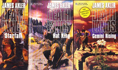 The Deathlands - 3 volumes: Gemini Rising / Rat King / Starfall