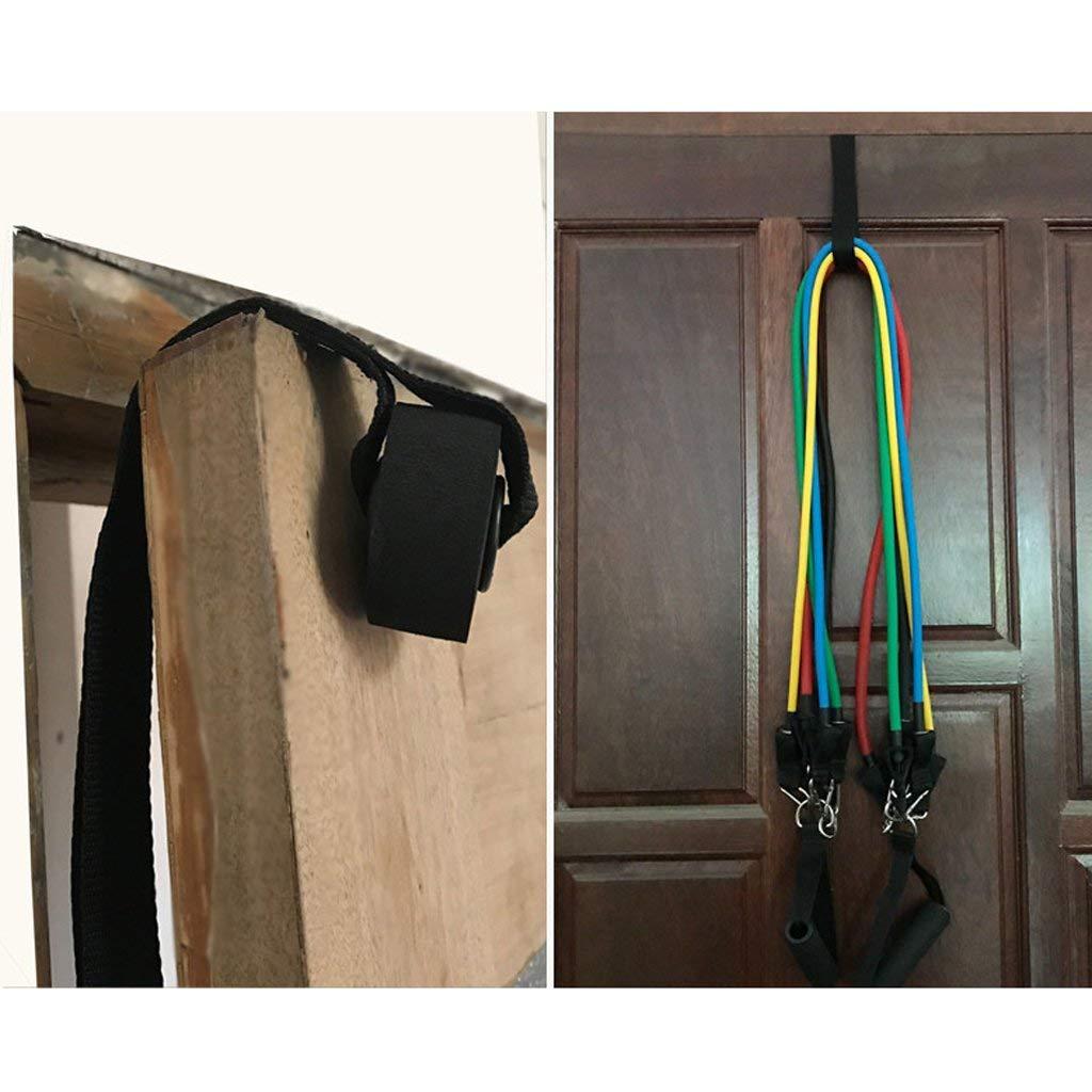 Ogquaton Accesorios de Banda telesc/ópica de Ancla de Puerta de Banda de Resistencia de Gimnasio de Primera Calidad 1PC en casa Convenientes