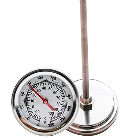 amazon com mr garden compost thermometer stainless steel