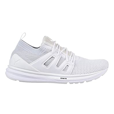 53f2b716ab53 Puma B.O.G Limitless Lo Evoknit S Men s Shoes White White 363669-02 (7.5