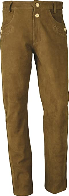 Fuente Lederhosen- Pantalon en Cuir Homme Femme- Oktoberfest Costume Homme  Femme - Lederhosen Costume- Lederhose Trachtenhose Cuir véritable Nubuk  Pantalon ... e6c63a65f4e