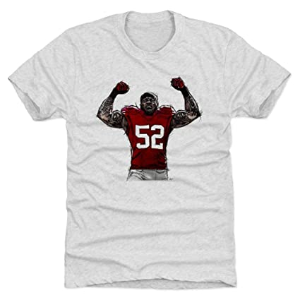 separation shoes 2fb24 a5f8d Amazon.com : 500 LEVEL Patrick Willis Shirt - Vintage San ...