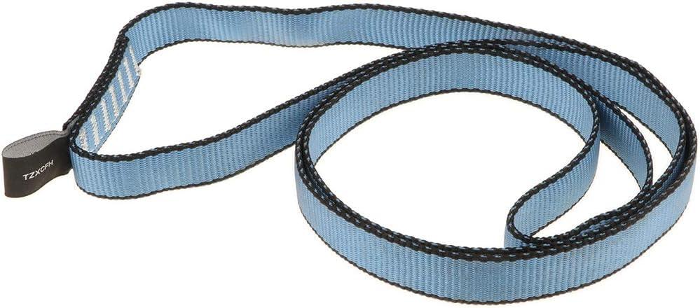 Toygogo 4pcs 23KN Adjustable Rock Climbing Rappelling Webbing Sling Cord Safety Gear