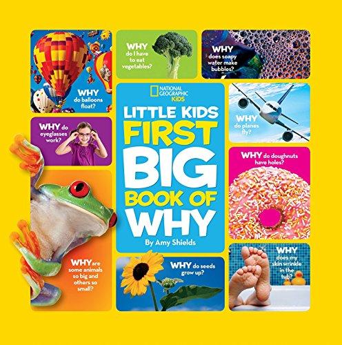 国家地理杂志销量第一的- LITTLE KIDS BIG BOOK OF WHY