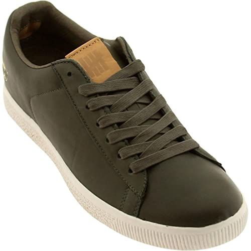 a6acf1b354a Mens Puma Clyde X UNDFTD Luxe (Stripe Off) Shoes   Sneakers  Amazon.ca   Shoes   Handbags