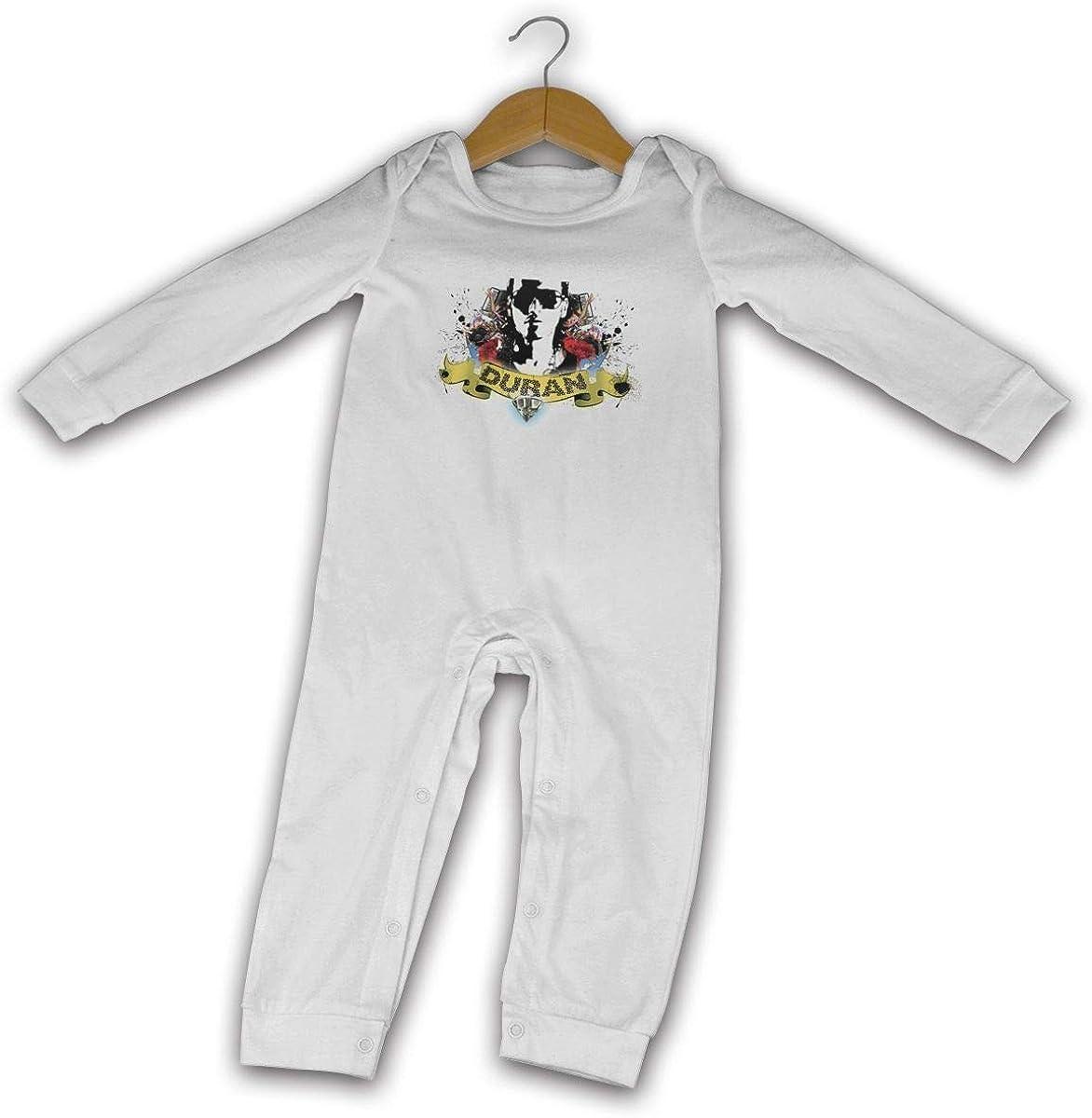 Qq1-asd-store Duran Duran Boys//Girls Baby Cotton Long Sleeve Romper Warm Bodysuit