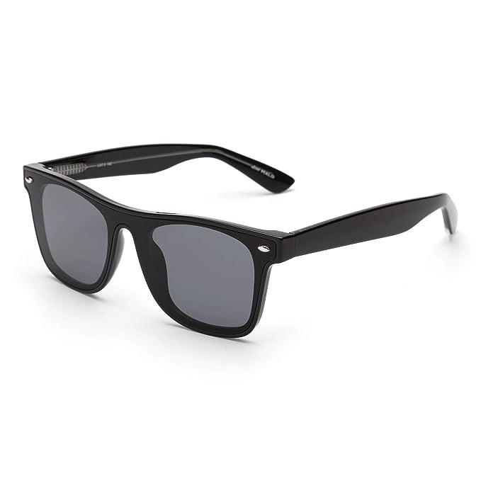 JIM HALO Gafas de Sol Cuadradas Vintage Para Mujer Hombre ...