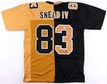 Willie Snead Iv Autographed Signed Saints Split Home Away Jersey  Memorabilia - JSA Authentic fcb376a06