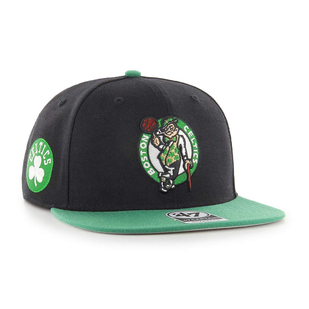 0db90a60f14719 47 Men Captain Sure Shot Two Tone Cap ONE Size FITS All Boston Celtics:  Amazon.ca: Clothing & Accessories