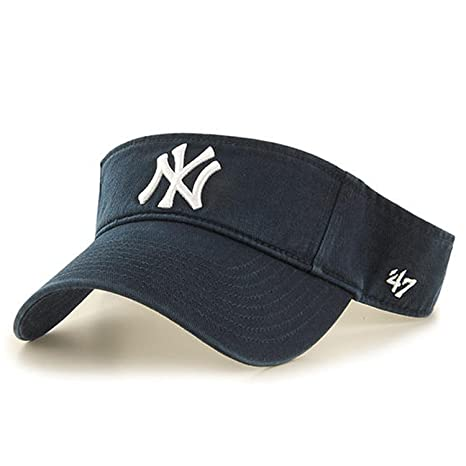 487359527d3d2e Amazon.com : '47 MLB New York Yankees Clean Up Adjustable Visor ...