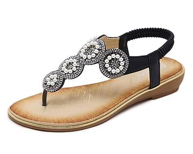 XIAOLIN-Sommer sandalen Womens Slippers Fashion Damenschuhe Damen Sommer Hausschuhe Diamond Slippers Fashion...