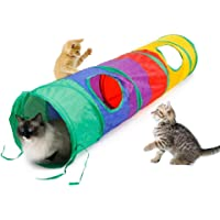Foldable Puzzle Pet Toy Cat Tunnel Rainbow Tunnel