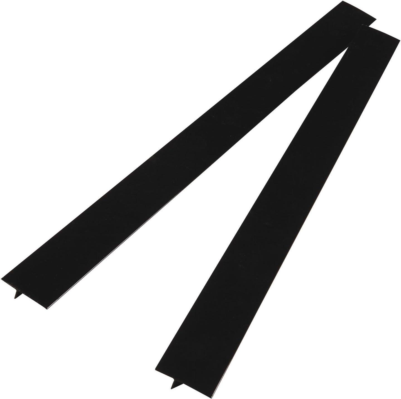 Gap Cap for Stovetops Black Set of 2