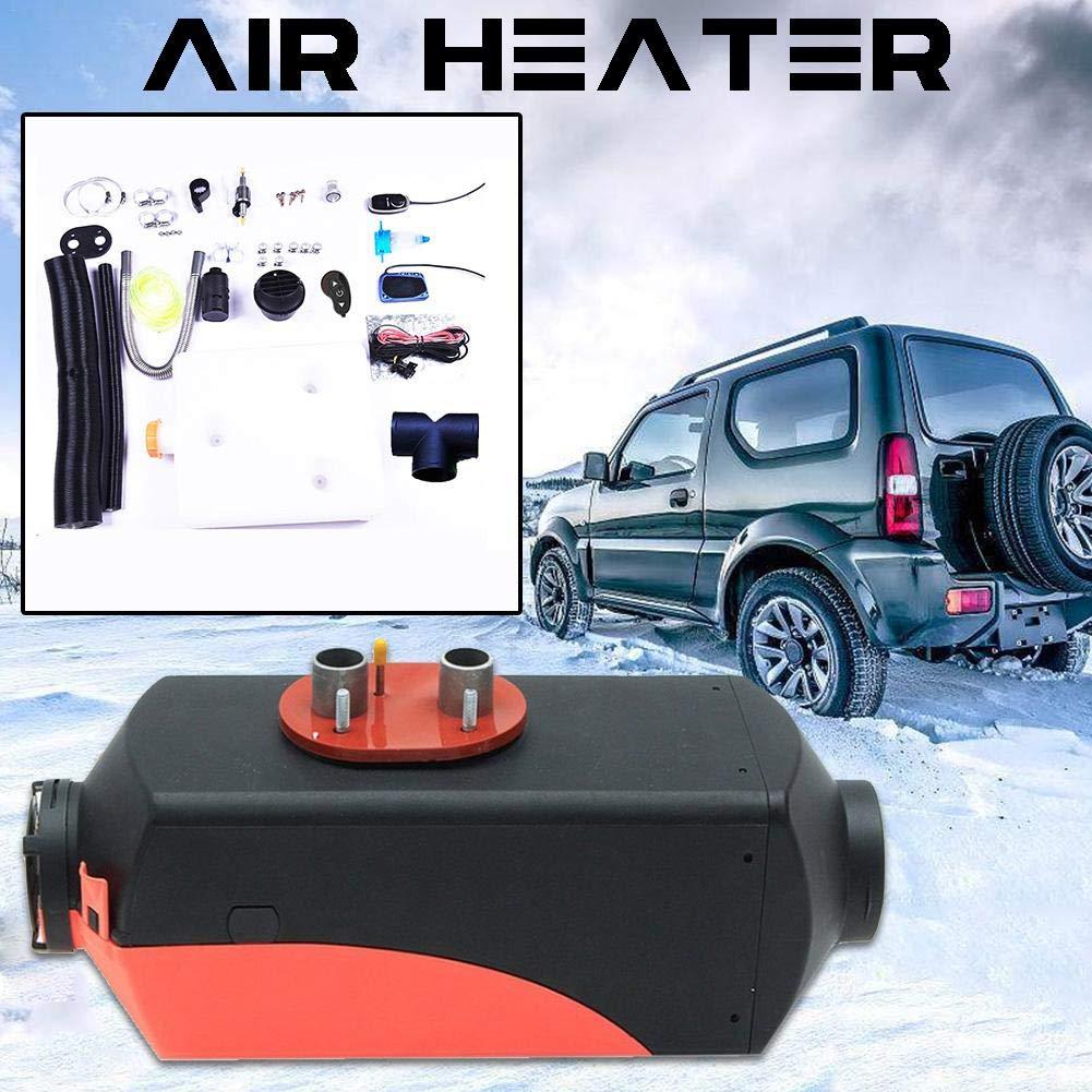 haodene Diesel Lufterhitzer Fahrzeugheizung Diesel Lufterhitzer LCD Monitor Thermostat Air Standheizung Auto Heizung mit Fernbedienung fü r Auto 12 V 5KW