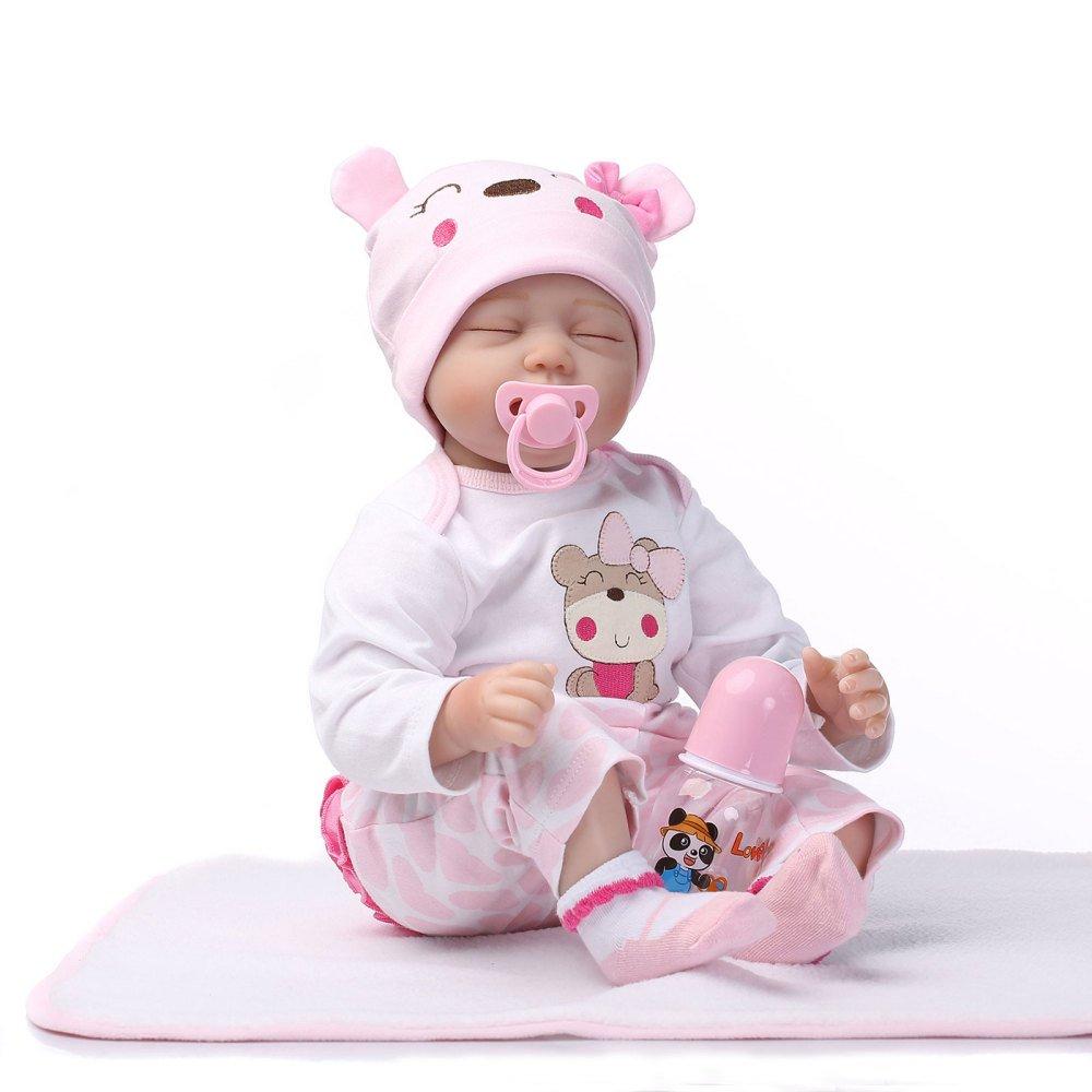mas barato YIHANGG Reborn 55 Cm Suave Silicona Reborn Baby Baby Baby Dolls Realista Tela Suave Cuerpo Recién Nacido Bebés Juguetes De Silicona Niños Cumpleaños Los Mejores Regalos  hasta un 70% de descuento