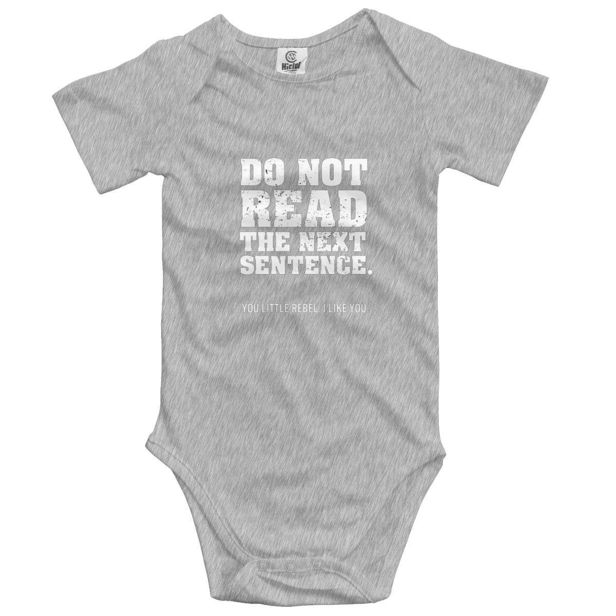 Do Not Read The Next Sentence Baby Romper 0-18 Months Newborn Baby Girls Boys Layette Rompers Black
