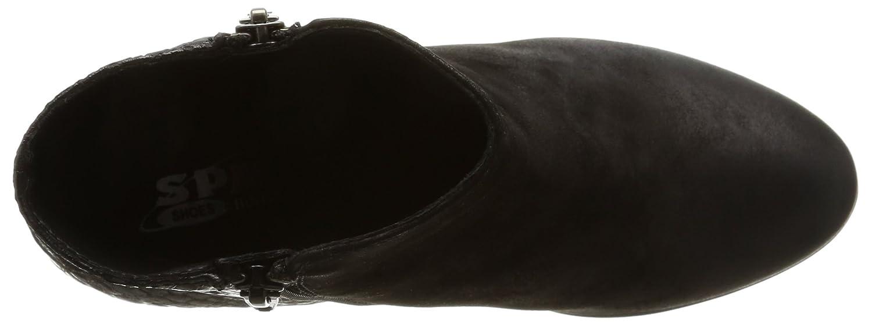 SPM Hautlence 18096148 Damen Stiefel & & Stiefel Stiefeletten Schwarz (Schwarz) 3f6d99
