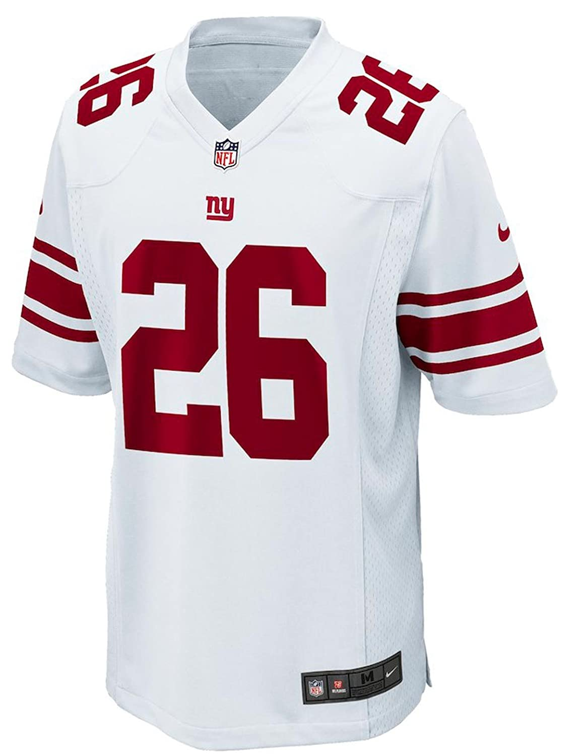 lowest price 56592 f226e NIKE New York Giants Saquan Barkley YOUTH BOYS Game Jersey - White