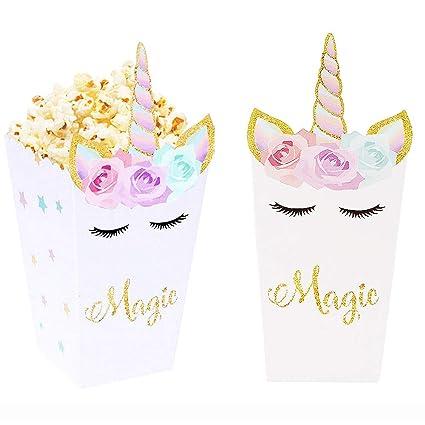 Amazon.com: Paquete de 36 bolsas de regalo con diseño de ...