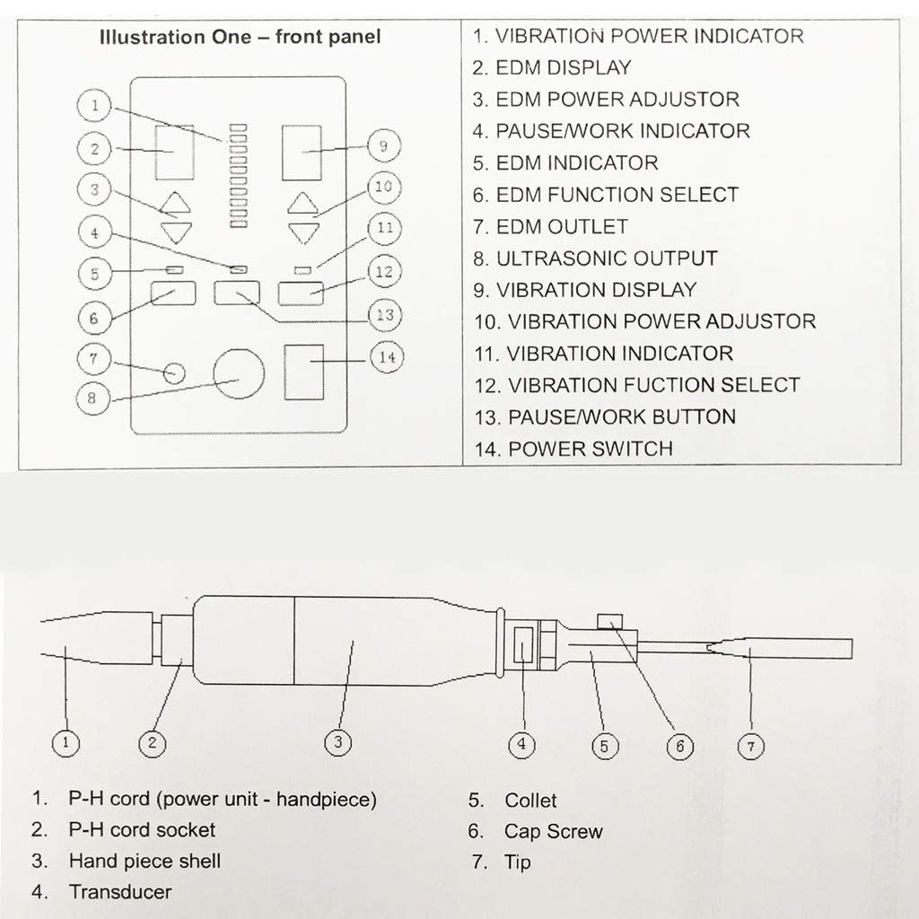 Rhegene Ultrasonic Polisher Machine Professional Multi-Function Mold Polishing Machine 110V by Rhegene (Image #2)